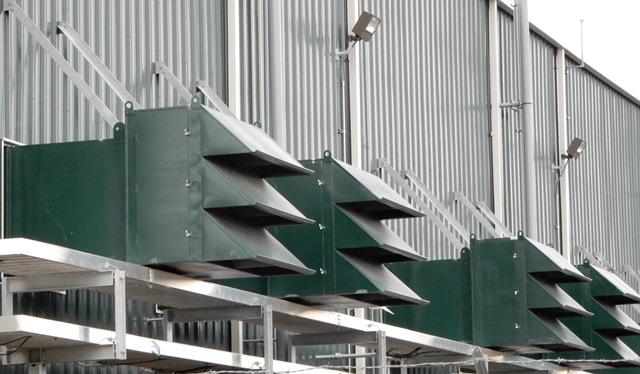 equipamentos de ventilação