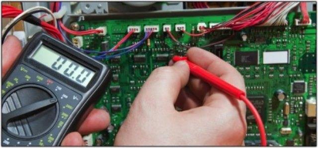 Instrumento de teste de manutenção em máquina