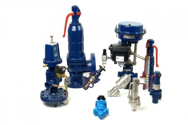 Modelos de válvulas industriais