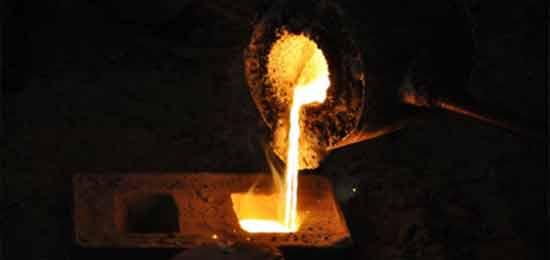 Fundição de metais em metal mecânica
