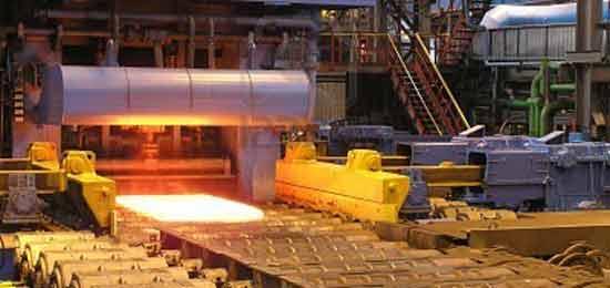 Laminação a frio em metal mecânica