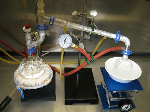O que é destilação a vácuo