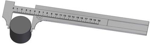 Paquimetro medição externa