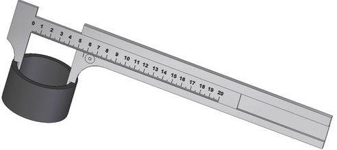 Paquimetro medição interna