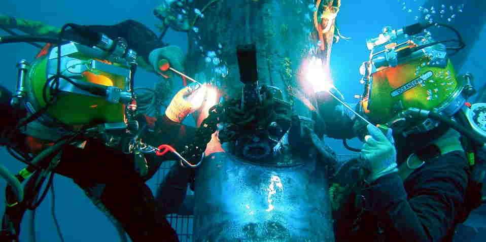 Solda submarina