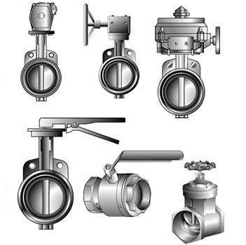 Tipos de válvulas industriais