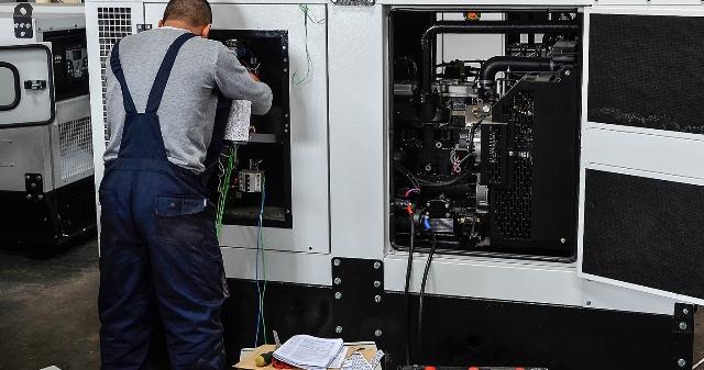 Manutenção completa de gerador | Mecânica Industrial