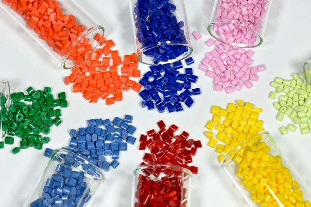resina plástica