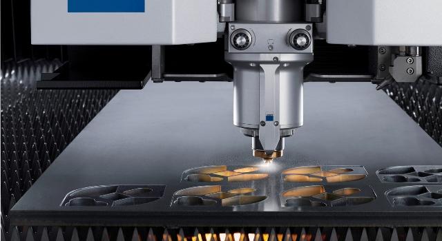 Corte industrial a laser
