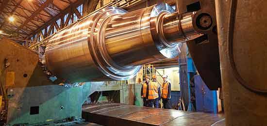 Manutenção em cilindros industriais
