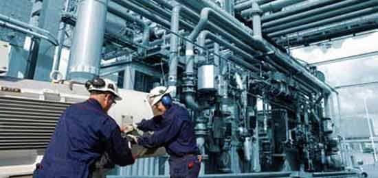 Manutenção na industria quimica